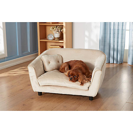 Enchanted Home Pet Astro Oyster Pet Sofa, Medium Dogs Up To 50 lbs