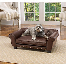 Enchanted Home Pet Brisbane Pebble Brown Pet Sofa