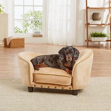 Enchanted Home Pet Ultra Plush Snuggle Sofa Bed (Choose Your Fabric)