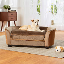 Enchanted Home Pet Ultra Plush Panache Pet Sofa (Choose Your Fabric)