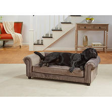 Enchanted Home Pet Manchester Velvet Tufted Sofa Bed (Choose Your Fabric)