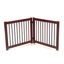Primetime Petz 360 Pet Gate Extension, Walnut (Choose Your Size)