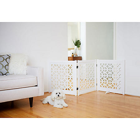 Primetime Petz Palm Springs Designer Pet Gate (Choose Your Size)