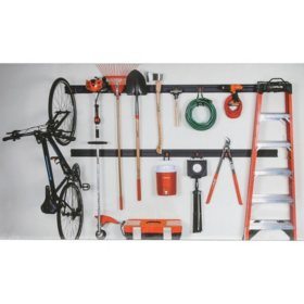 Haus 16-Piece Garage Organization System - Sam's Club