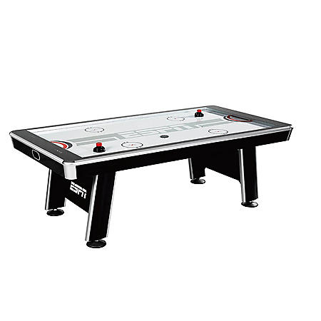 ESPN Silver Streak 8' Air-Powered Hockey Table