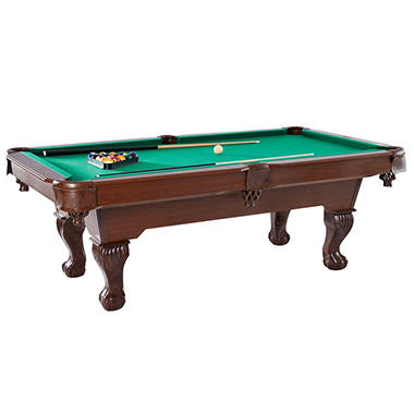 Ball and Claw 7.5-Ft. Billiard Table