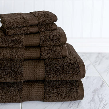 American Dawn Crystal Bay 6-Piece Towel Set