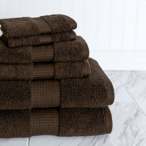 American Dawn Crystal Bay 6-Piece Towel Set
