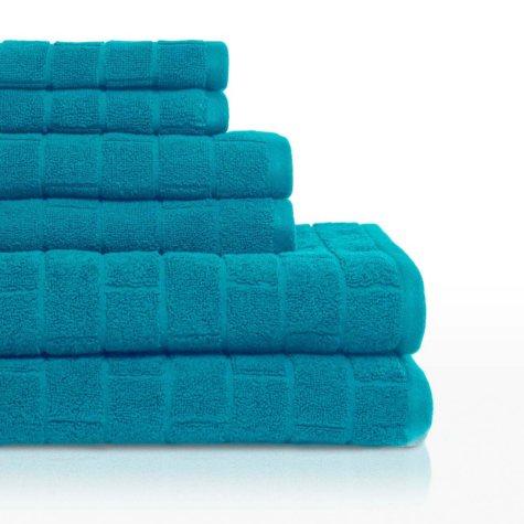 Vicki Payne Tiles 6-Piece Bath Towel Set