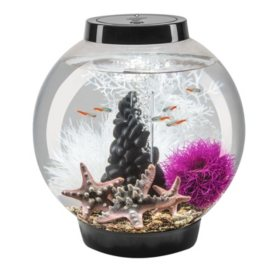 biOrb Classic 15 Acrylic Aquarium Kit, 4-Gallon, Black