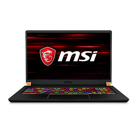 "MSI GS75 Stealth-249 Full HD 17.3"" Gaming Laptop, Intel Core i7-9750H Processor, 32GB Memory, 512GB NVMe SSD, Thunderbolt 3, 144Hz Display, Thin Bezel, NVIDIA GeForce RTX2060, Windows 10 Pro"