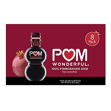 Pom Wonderful Pomegranate Juice (8 fl. oz., 8 pk.)