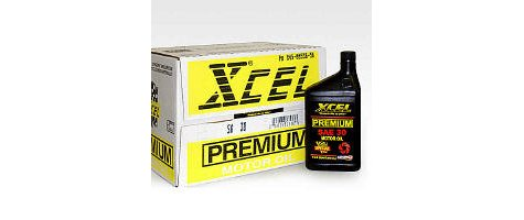 Xcel Premium SAE30 Motor Oil - 1 Quart Bottles - 12 pack