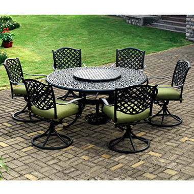 Vineyard Outdoor Dining Set 9 Pc