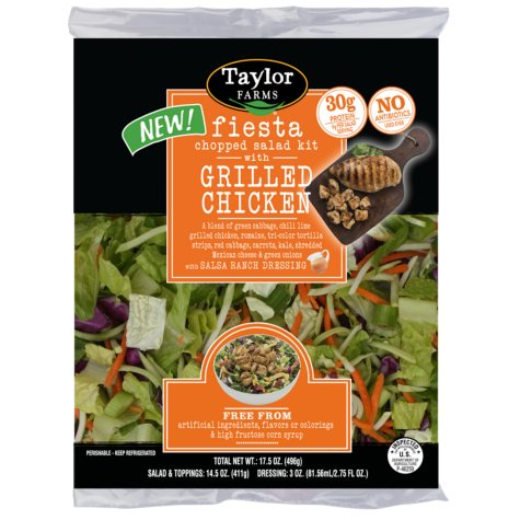Fiesta Chopped Salad Kit with Grilled Chicken (17.5 oz.)
