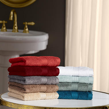 Hotel Luxury Reserve Collection 100% Cotton Luxury 2-Pack Washcloth 13