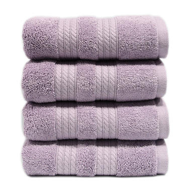 HAND TOWEL - LILAC 100% COTTON
