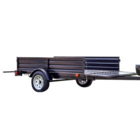 DK2 Single Axle Utility Trailer Kit with Tilt and Extension Capabilities