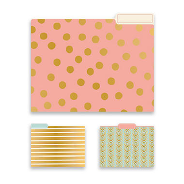 FILE FOLDERS GEO S15 GEOMETRIC SET OF 15