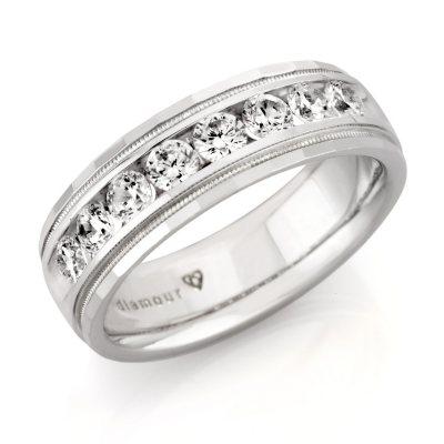 1 ct tw Mens Diamond Wedding Band HI SI2 Sams Club