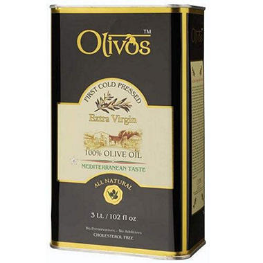 Olivos Extra Virgin Olive Oil - 3L Tin