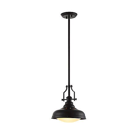 OVE Decors Bergin I Bronze Finish LED Integrated Pendant