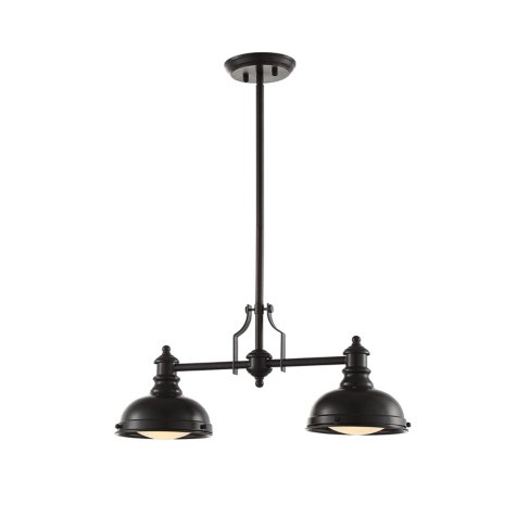 OVE Decors Bergin II Bronze Finish LED Integrated Pendant