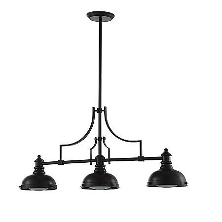 OVE Decors Bergin III Bronze Finish LED Integrated Pendant