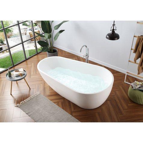 "OVE Decors Scarlett 73"" Seamless Freestanding Bathtub"