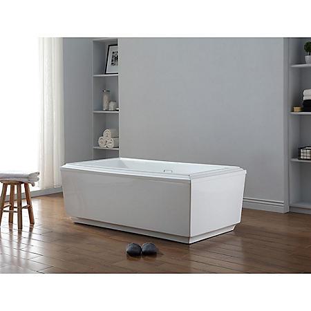 "OVE Decors Prague 65"" Freestanding Bathtub"