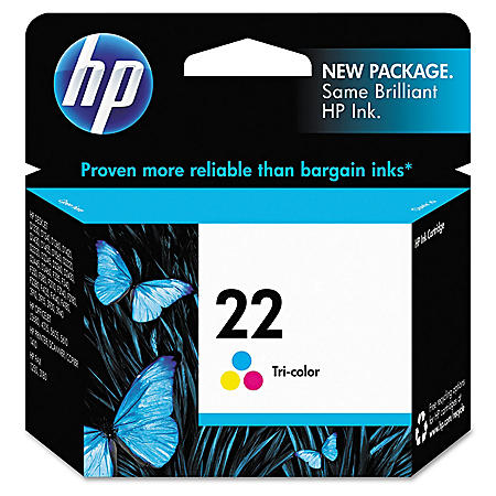HP HP 22, (C9352AN) Tri-Color Original Ink Cartridge