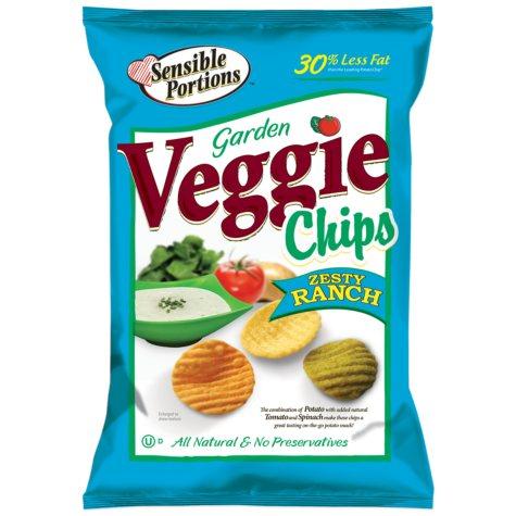 Sensible Portions Zesty Ranch Veggie Chips - 18 oz.