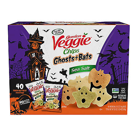 Garden Veggie Ghost and Bats Veggie Snacks (40 ct.)