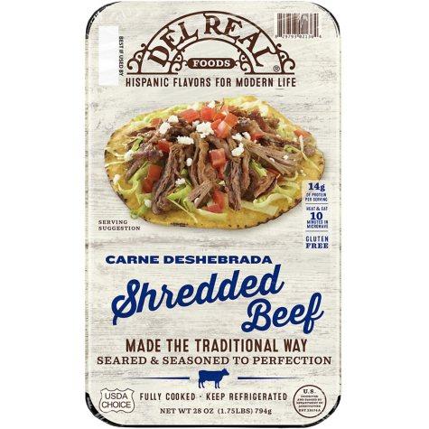 SHREDDED BEEF 28 OZ