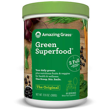 Amazing Grass Green Superfood, Original (45 servings)