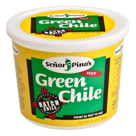 Señor Piño's Hot Green Chile (56 oz.)