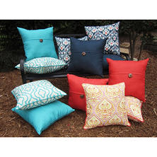 "20"" Toss Pillows in Assorted Fabrics, 2-Pk."