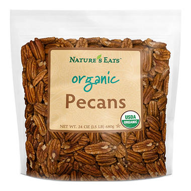 Nature's Eats Organic Pecans (24 oz.)