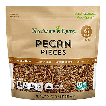 Nature's Eats Pecan Pieces (24 oz.)