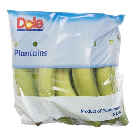 Plantains (5 lbs.)