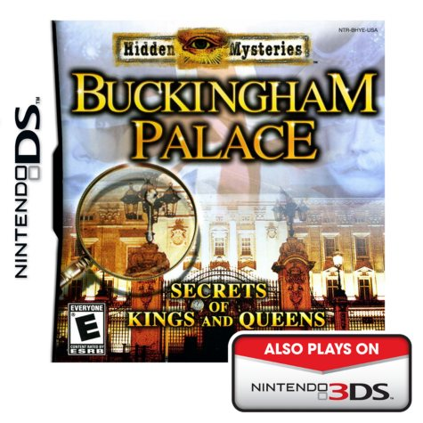 Hidden Mysteries Buckingham Palace: Secrets of Kings and Queens - NDS