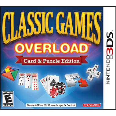 Classic Games Overload - 3DS