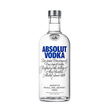 Absolut Vodka (750ML)