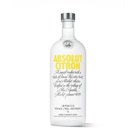 Absolut Citron Vodka (1 L)
