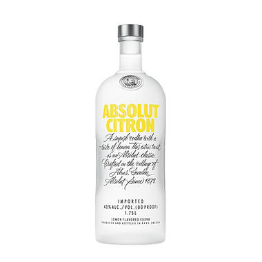 Absolut Citron Vodka (1.75 L)