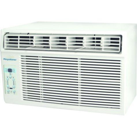 Keystone 8,000 BTU 115-Volt Window-Mounted Air Conditioner