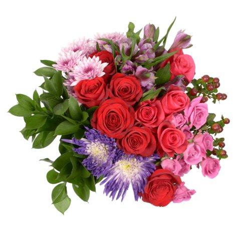 """""""Rose Garden"""" Fresh Cut Flower Bouquet"""