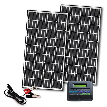 330-Watt Off-Grid Solar Panel Kit for 12-Volt Charging