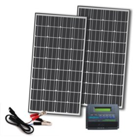 330-Watt Off-Grid Solar Panel Kit for 12-Volt Charging