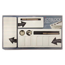 Three by Three Seatle Jotblock Notepad and Supply Caddy Set